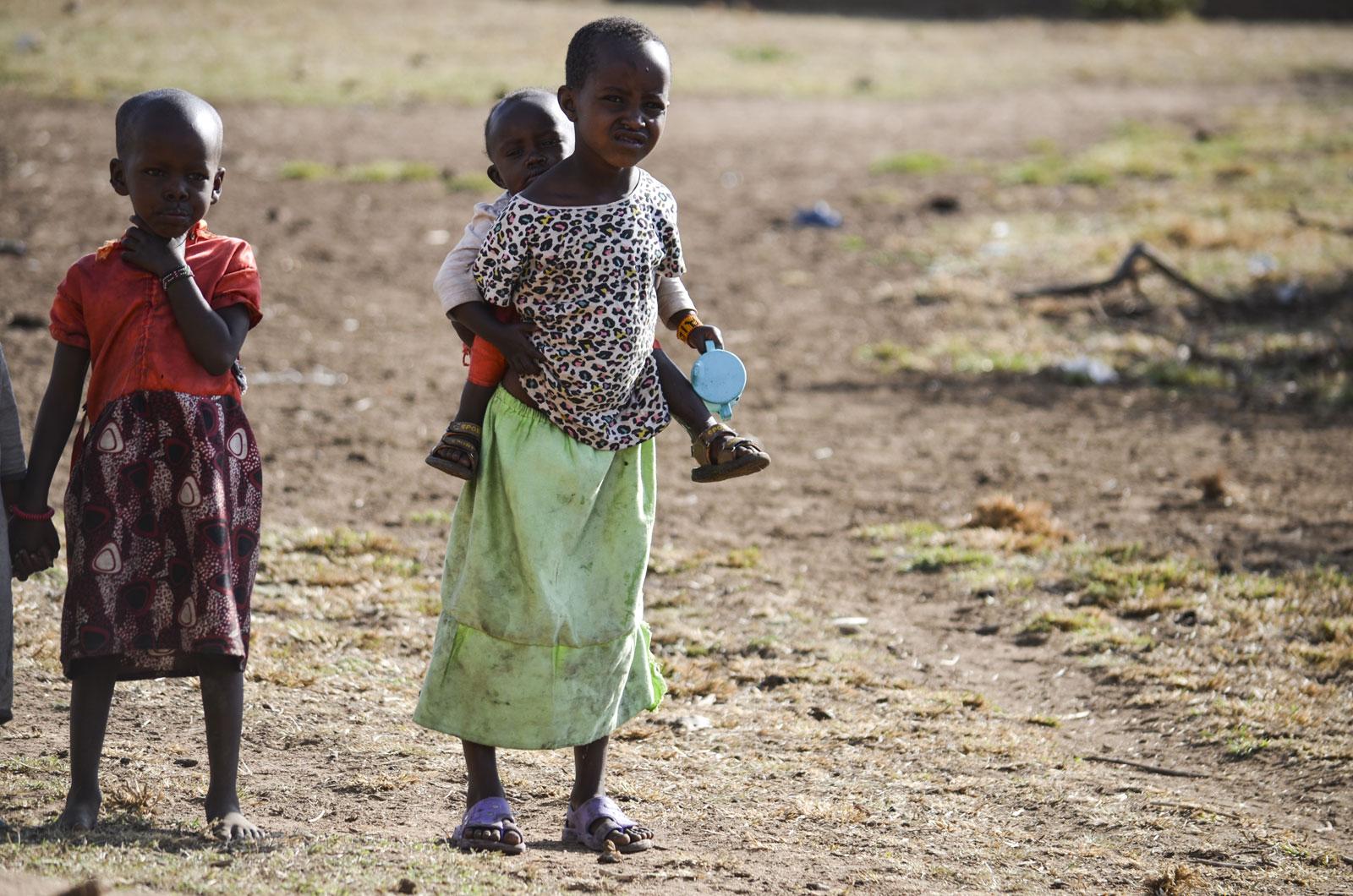Maasai Children